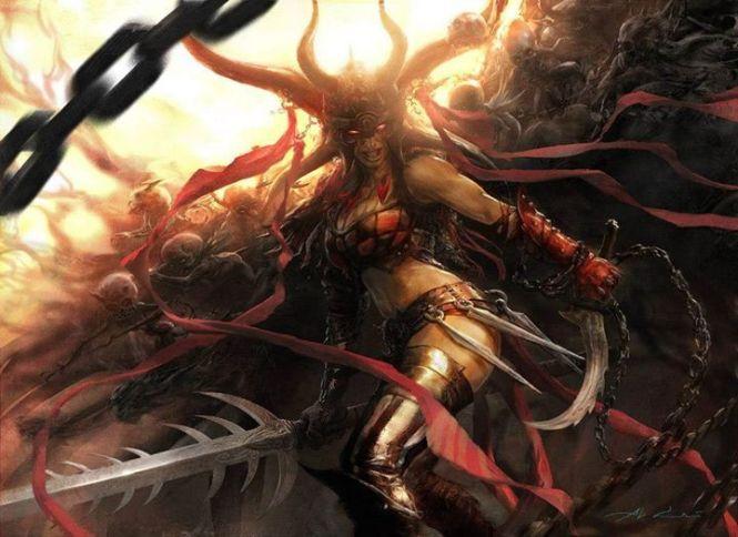 Exava the BloodWitch