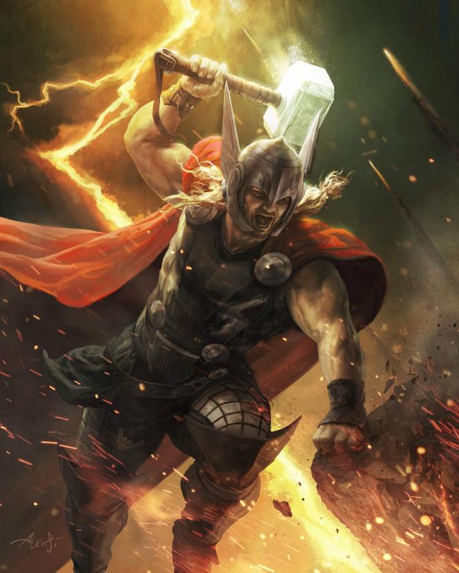 Thor Marvel War of Heroes